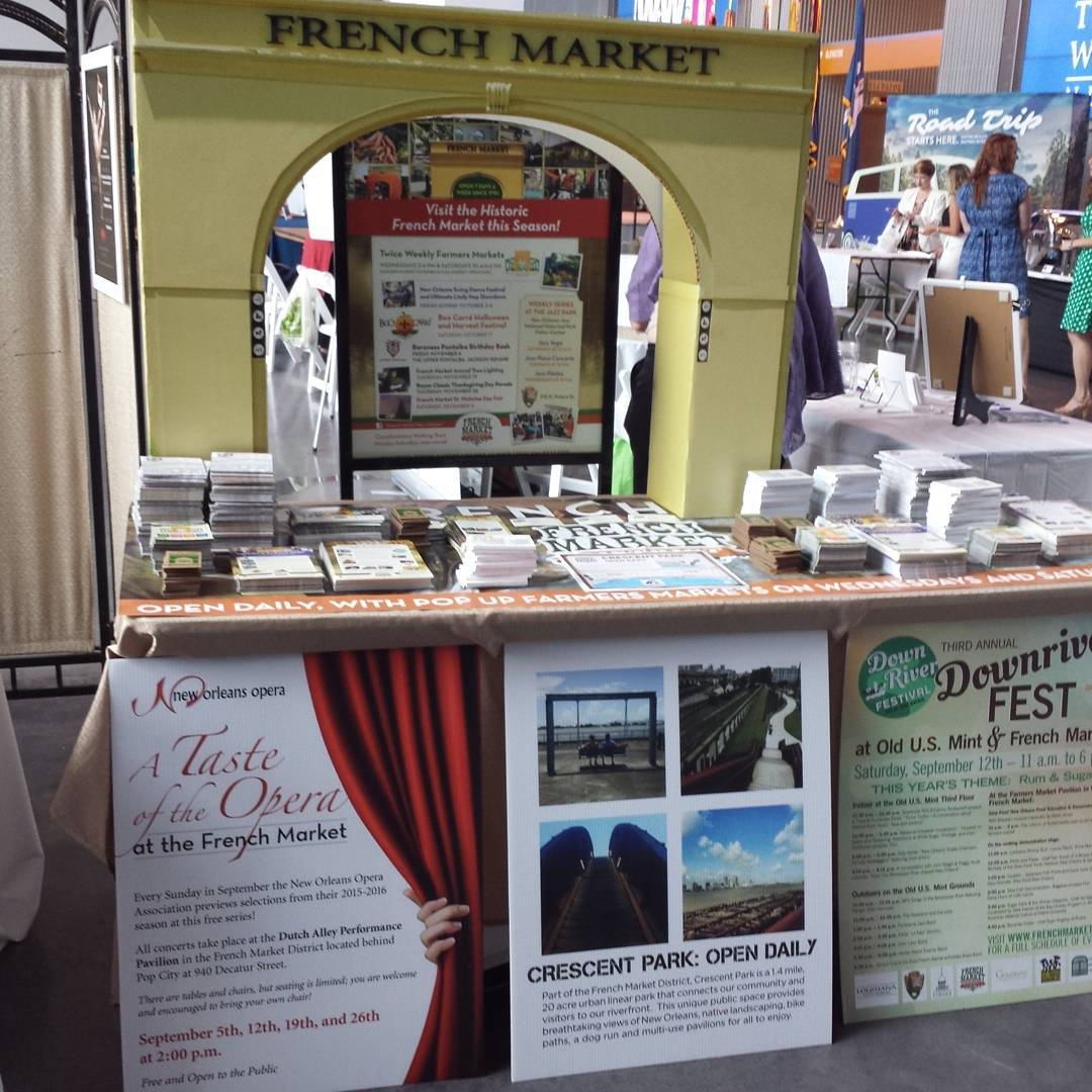 Stop by and see the French Market at CultureCollision7
