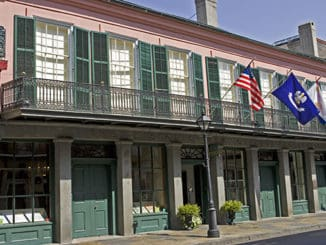 Shown here, THNOC's flagship location at 533 Royal St. houses permanent and rotating exhibitions, guided tours and the museum shop. PHOTO CREDIT: Courtesy of The Historic New Orleans Collection